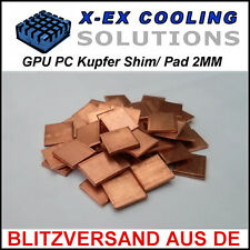 [KUPFER] 2MM GPU Shim/Wärmeleitpad →Laptop Reparatur Repair Thermal Pad Copper