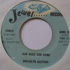 BROOKLYN ALLSTARS ~ JEWEL 45 black gospel SOUL funk ~ HEAR IT