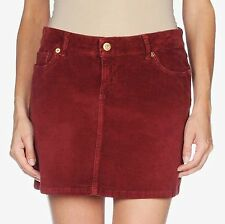 "$330 D&G Dolce & Gabbana 30 33"" Mini Skirt Dress Corduroy Velvetee Women Lady"