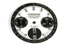 Dial (silver) for Citizen 8110 automatic bull-head chronograph