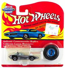 Hot Wheels Vintage Collection Silhouette Metallic Silver Gray Series A MOC 1994