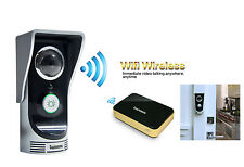 Wireless WiFi Camera Door Phone Doorbell Home Security Monitoring Night Vision