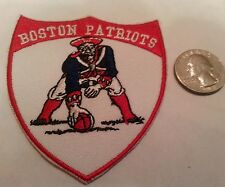 Boston New England Patriots  Vintage CLASSIC Embroidered Iron On Patch   3x3""