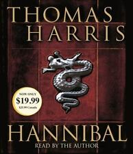 Hannibal (Hannibal Lecter Book 3) Thomas Harris NEW Audio CD Abridged FREE SHIP