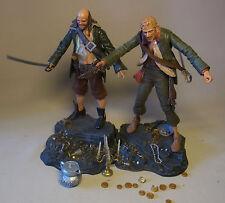 2 Neca 2006 Fluch der Karibik Pintel & Ragetti Action Figuren