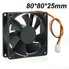 New 80mm 3Pins 12V PC CPU Host Chassis Computer Case IDE Fan Cooling Cooler HOT