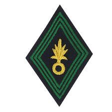 Losange / écusson de bras cannetille  pour Ténue Uniforme de Officier LÉGION .