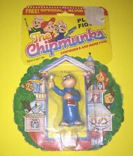 Vintage Ideal The Chipmunks Figure 1984 Simon In Card Not Opened -Free S/H