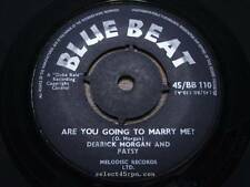 DERRICK MORGAN & PATSY = Are You Going To Marry Me = EX = BLUE BEAT BB 110 = Reg