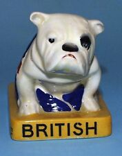 ROYAL DOULTON LOUIS WEARDEN & GUYLEE ADVERTISING BULLDOG WITH UNION JACK c.1932