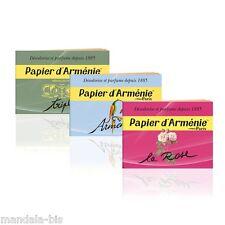 Pack Senteur Le Papier d'Arménie - Testez les 3 Carnets différents ! (Armenie)