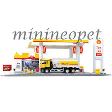 RMZ CITY 24444 SHELL SERVICE GAS STATION with TANKER 1/64 PLAY SET