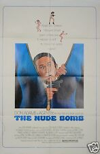 1980 THE NUDE BOMB 1SH ORIGINAL MOVIE POSTER GET SMART DON ADAMS SECRET SPY