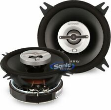 "Infinity REF-4002cfx 70W RMS 4"" Reference X 2-Way Coaxial Car Stereo Speakers"