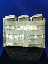 USGI 3 Magazine Side By Side Pouch Digital Camo MOLLE II AR Servicable