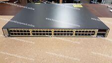 Cisco WS-C3750E-48TD-E 2 x 10 Gigabit 48 x 10/100/1000 switch 3750E-48TD-E
