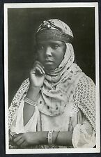 C1970's View of a Moorish Lady in her House in Traditional Dress, Alger