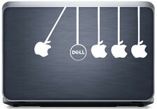 meSleep Dell Vs Apple Laptop Decal-Laptop Sticker