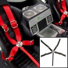 1/10 Drift Axial Wraith & Others Black Seatbelt Racing 5 Point Harness Set