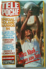Télé Poche 22/05/1984 Spécial Roland Garros / Yannick Noah / Montand