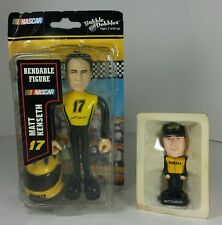 2 Matt Kenseth #17 NASCAR Figures - Bendable Figure & Mini Bobblehead