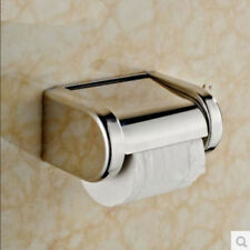 Fashion Bathroom Square Chrome Stainless Steel Toilet Paper Holder Tisser Box