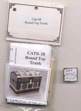Kit - Round Top Trunk - dollhouse miniature 1/12 scale CATS28 - USA