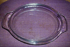 """Clear Glass Replacement Lid Pyrex Corning #3055   7"""" By 9"""" INCHES"""
