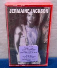 Jermaine Jackson Precious Moments 10 track 1986 CASSETTE TAPE NEW duet w/Whitney