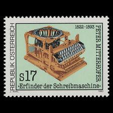 Austria 1993 - 100th Comm of the Death of Peter Mitterhofer - Sc 1591 MNH