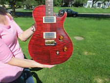 Prs Modern Eagle 1 Brazilian Rosewood Neck Single Cut Red Tiger Tremelo 2007