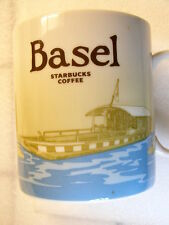 BASEL,Starbucks Coffee Mug Cup,Collectors Series,City View,Switzerland