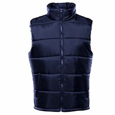 Mens Bodywarmer Gilet Padded Quilted Puffer Winter Warm Jacket Size S - 3XL