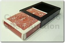 BICYCLE DECK VANISH DISAPPEARING VANISHING CARD CASE CLOSE UP MAGIC TRICK BOX