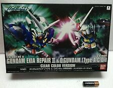 Limited SD EXIA REPAIRⅡO GUNDAM 00 Crystal CLEAR VER BANDAI JAPAN