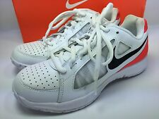 Nike Air Mens White/Black Bright Crimson Vapor Ace Tennis Sneakers Shoe Size 6