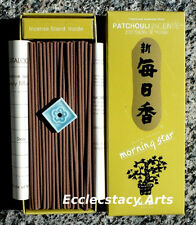 Nippon Kodo Morning Star Patchouli Incense, 3 boxes x 200= 600 Incense Sticks