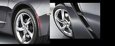 2014 2015 Corvette Stingray Front & Rear Splash Mud Guards by Chevrolet OEM GM