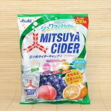 Japan Asahi MITSUYA CIDER candy MIX FRUIT PACK Japanese Peach Grape & ORANGE