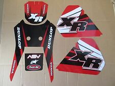TEAM  HONDA GRAPHICS 1986-1995 XR250 & 1985 1986 1987 XR600R XL250R XL350R XL250