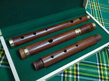 Traditional  Irish D Flute Rosewood Natural Finish + Wooden Hard Case/D Flute