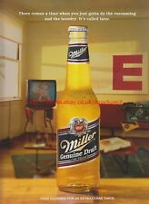 Miller Genuine Draft 1995 Magazine Advert #7660