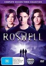 Roswell : Complete Season 3 Collection (DVD, 2006, 5-Disc Set) TV series M Used