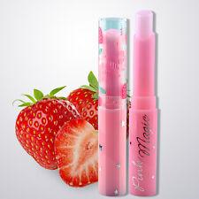 Hot Strawberry Pink Magic Temperature Change Color Lipstick Moisturing Lip Balm