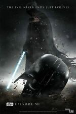 NEW Star Wars Episode 7 Movie ART Wall 24x36 inch POSTER