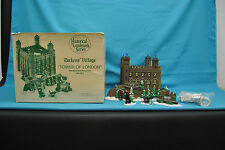 Dept 56 Dickens Village Tower of London Historical Landmark Series 1997 Set of 5