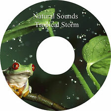 Natural Sounds Tropical Storm CD - Relaxation Sleep Aid Stress & Anxiety Relief