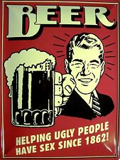 Beer Bier Blechschild Schild Blech Metall Metal Tin Sign 30 x 40 cm