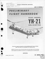 Piasecki H-21 YH-21 Workhorse Shawnee historic archive manual RARE DETAILS