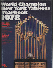 1978 New York YANKEES  Yearbook, Roster Date 6/78